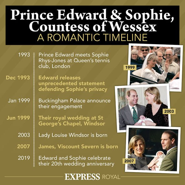 Sophie joined the Royal Family in 1999 when she married Prince Edward