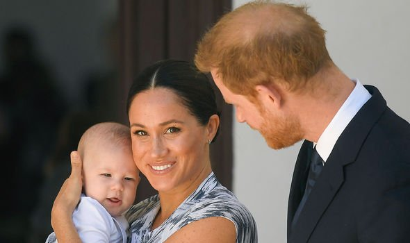 Harry and Meghan have one son, Archie