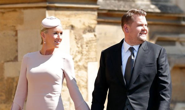 james corden royal wedding