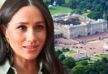 meghan markle buckingham palace