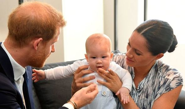 meghan markle news archie photo silver tree twitter