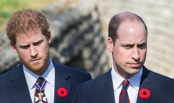 prince harry prince william meghan markle interview royal feud royal family news