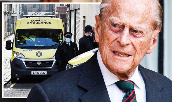 prince philip health update duke edinburgh leaving hospital