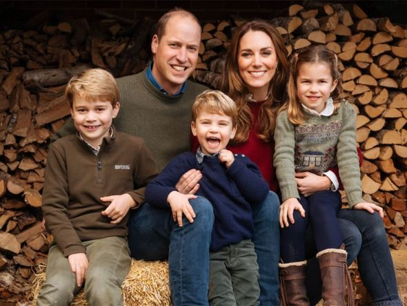 william kate christmas card 2020