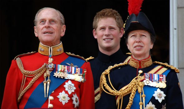 Philip and Harry shared a love of all things military