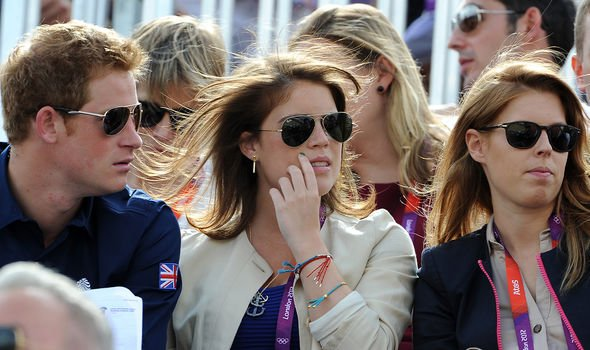 Harry used to be close to his cousins, especially Eugenie