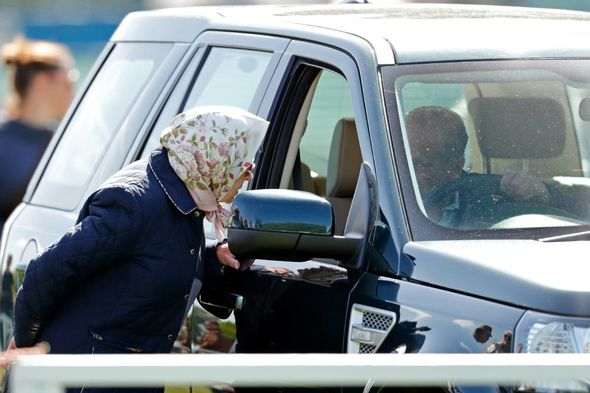 Anne met with members of the Royal Yacht Squadron on the Isle of Wight yesterda