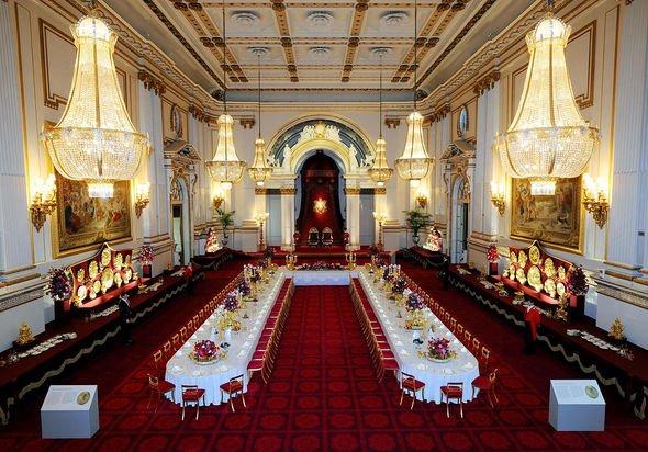 Buckingham Palace: Property ballroom