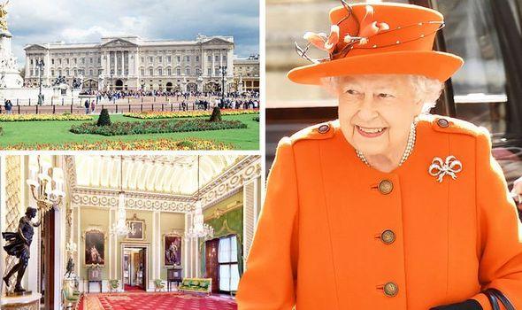 Buckingham Palace: Queen Elizabeth II property