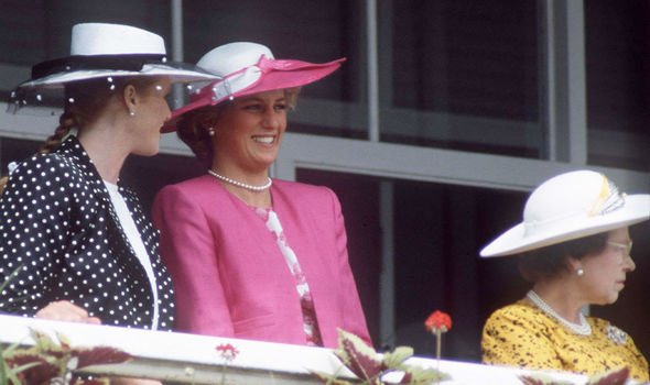 Diana and Sarah Ferguson -- the Queen's two former daughters-in-law