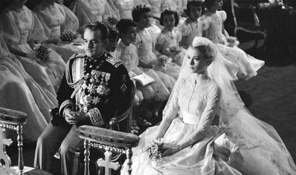 Grace Kelly: A royal commentator claimed Grace was a 'caged bird' at her wedding
