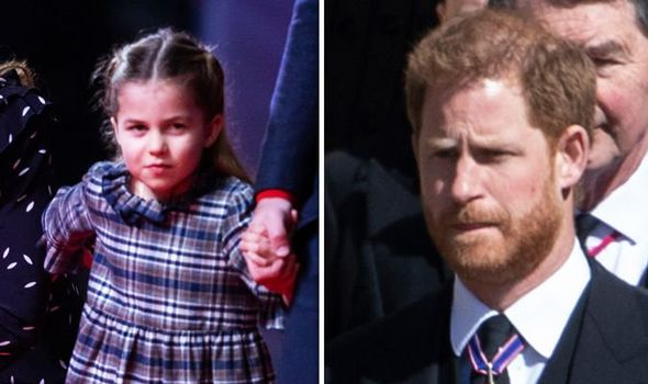 Harry's admission before not being able to see Princess Charlotte: 'What a bad uncle I am'