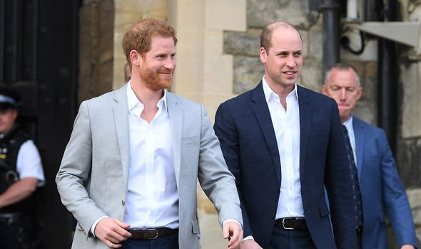 Harry and William will not be walking shoulder to shoulder for the procession