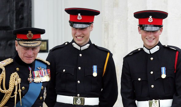 Harry and William were close with their grandfather, Philip, who died last Friday at 99