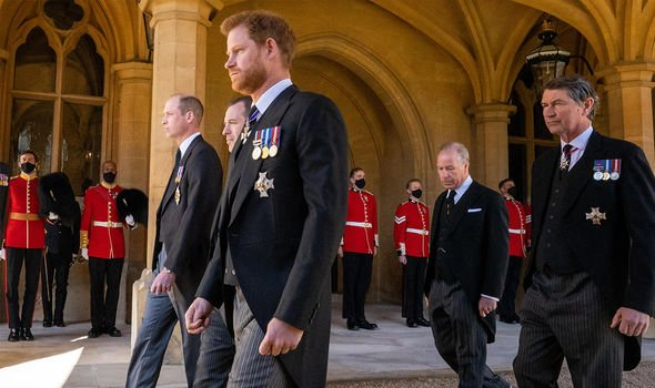 Harry's rift with the rest of the Royal Family has been the source of speculation for months