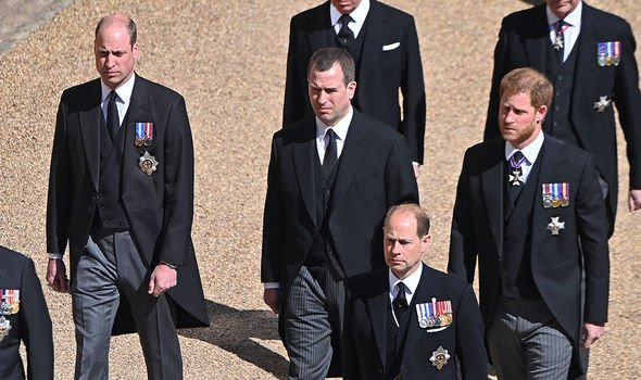 Harry was back in the UK to attend Philip's funeral on Saturday
