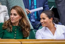 Kate and Meghan at Wimbledon