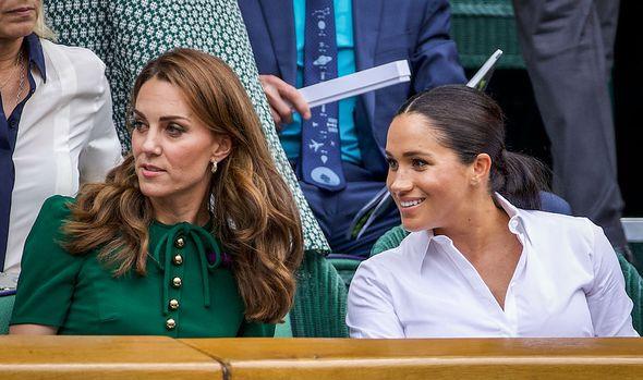 Kate and Meghan at Wimbledon