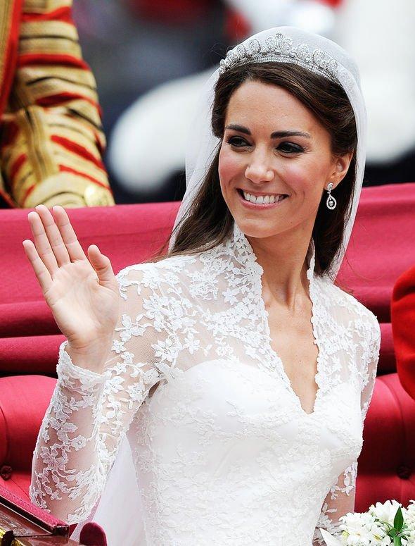 Kate Middleton: Prince William wedding earrings