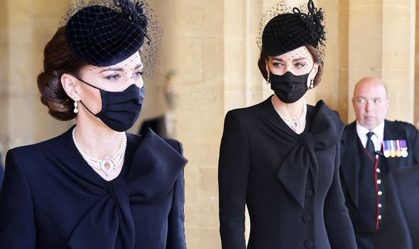Kate Middleton style: Prince William funeral