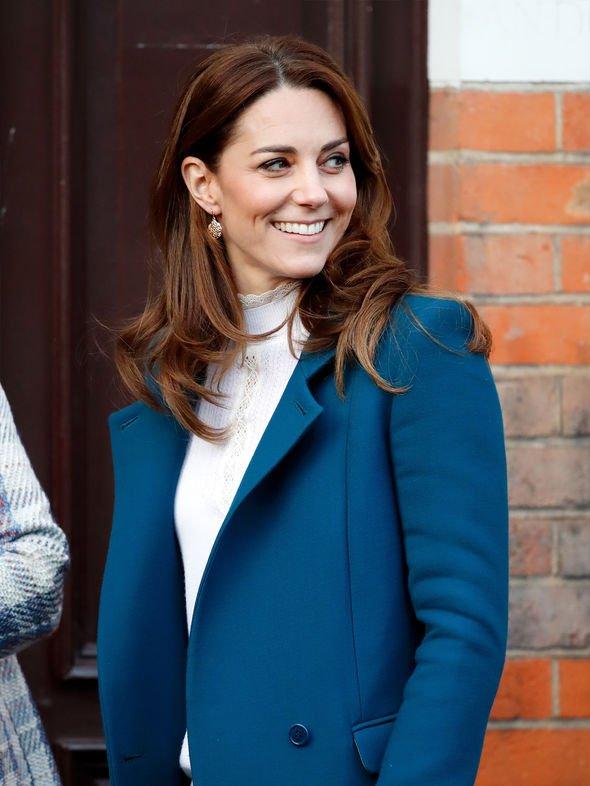 Kate Middleton wearing the Sezane Tulio jumper
