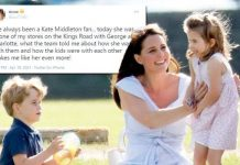 Kate Middleton with George and Charlotte at polo