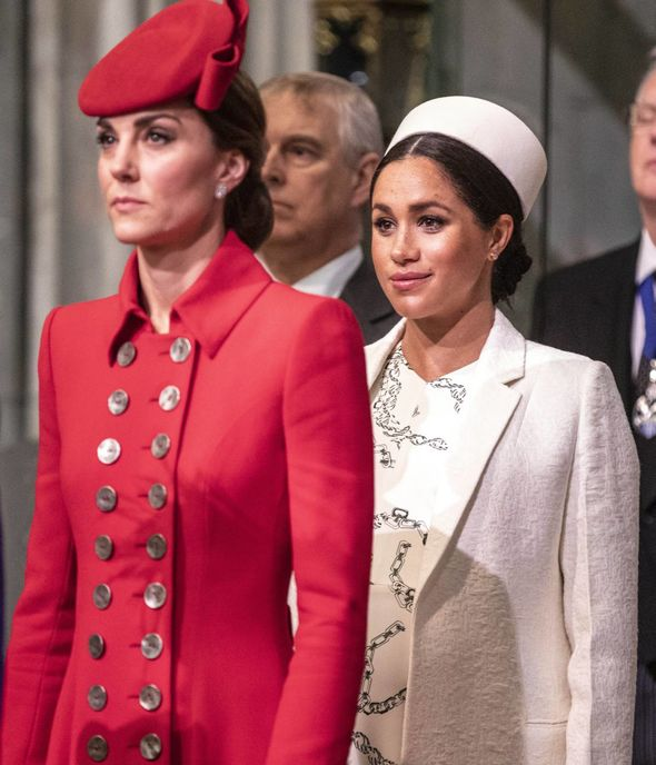 Kate focused on her royal duties in the UK while Meghan built up her new US life