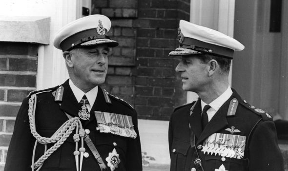LORD MOUNTBATTEN PHILIP