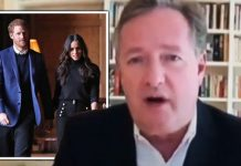 Meghan Markle news Piers Morgan Prince Harry