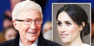 PAUL O'GRADY MEGHAN MARKLE ROYAL FAMILY QUEEN TV