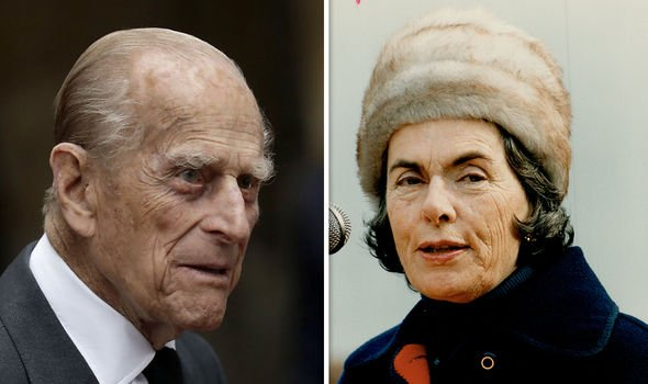 Prince Philip and his cousin Patricia, 2nd Countess of Mountbatten