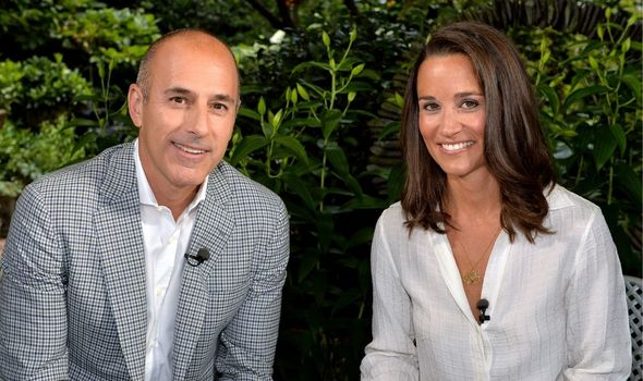 Pippa Middleton before her appearance on NBC