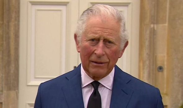 Prince Charles has issued a statement on his late father
