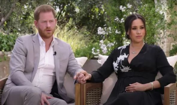 Prince Harry and Meghan's interview