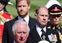 Prince Harry and Prince Charles 'walked and talked'