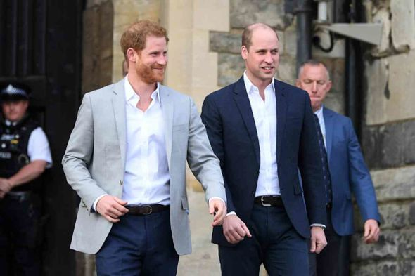 Prince Harry and his brother William