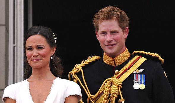 Prince Harry with Pippa Middleton