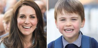 Prince Louis birthday picture