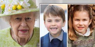 Prince Louis news Princess Charlotte Queen update