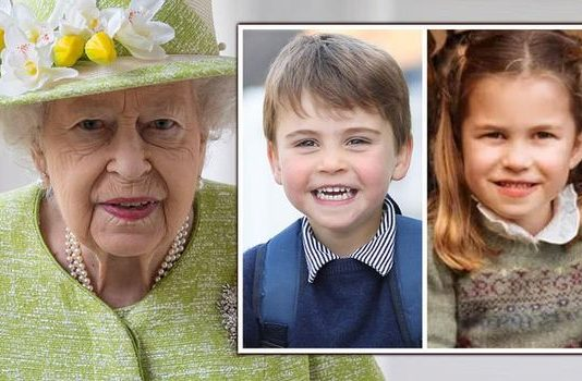Prince Louis news Princess Charlotte Queen update