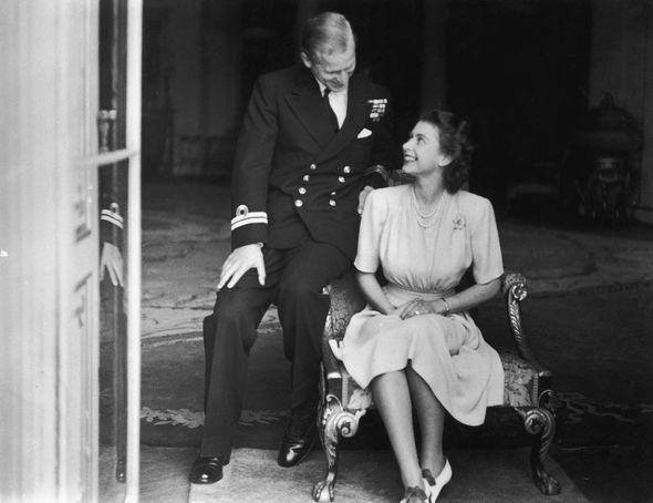 Prince Philip Princess Elizabeth engagement