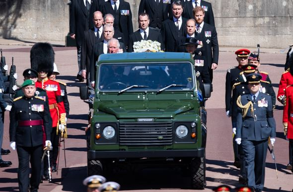 Prince Philip was buried on Saturday