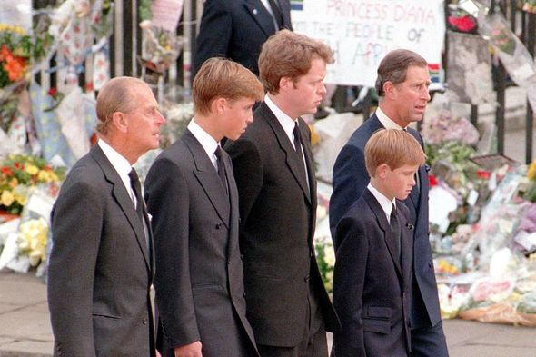 Prince Philip was supportive towards his grandsons as they were growing up