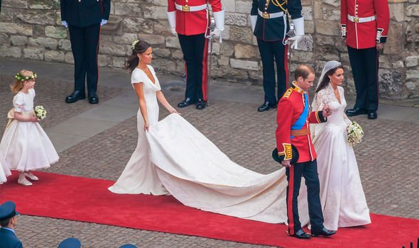 Prince William: The Duke and Duchess pictured on their wedding day