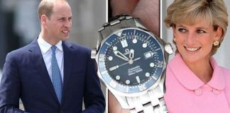 Prince William has £3,000 sentimental watch from Diana - and he's worn it everyday since