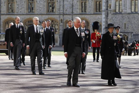 Princess Anne funeral