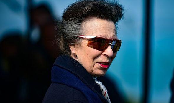 Princess Anne makes first royal visit since Philip's death