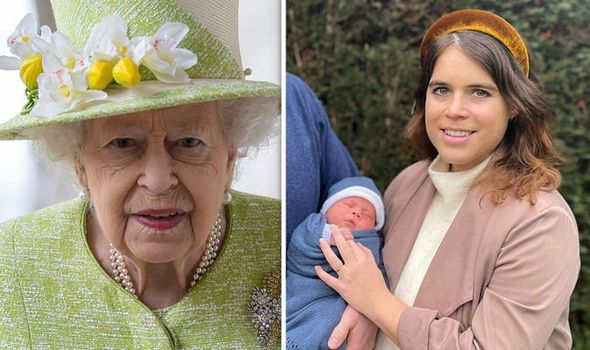 Princess Eugenie and Baby August