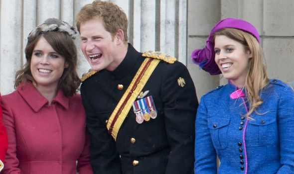 Princess Eugenie and Prince Harry are reportedly close