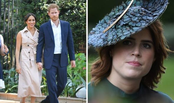 Princess Eugenie overshadowed by Meghan and Harry AGAIN after latest update